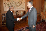 José Maria Neves received by the President