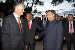 Presidente recebeu cumprimentos do Corpo Diplomático