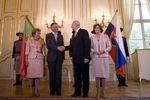 Encontro com Presidente Gasparovic