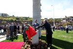 Inauguração do monumento de homenagem aos bombeiros