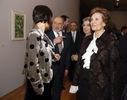 Inauguração da exposição na Gulbenkian