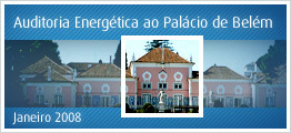 Auditoria Energética ao Palácio de Belém - Janeiro 2008