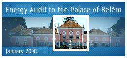 Energy Audit to the Palace of Belém - January 2008