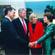 Na Casa Branca com o Presidente Bill Clinton, Outubro de 1994