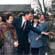 Visita ao Palácio de Verão, nos arredores de Pequim, durante a visita à China, Abril de 1994