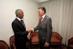 Cavaco Silva e Kofi Annan