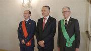 Condecoração do General José Araújo Pinheiro e do Tenente-General Joaquim Chito Rodrigues
