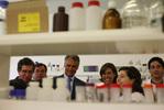 Presidente sublinhou bons exemplos nas biociências e biotecnologia