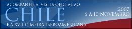 Visita Oficial ao Chile e XVII Cimeira Iberoamericana - 6 a 10 de Novembro de 2007