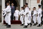 Base Naval de Lisboa e Base de Fuzileiros receberam visita do Presidente