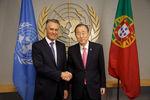 Encontro com Ban Ki-Moon