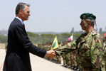 Army Rapid Reaction Brigade received a visit from the President