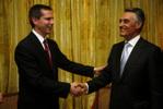 Dalton McGuinty recebido pelo Presidente Cavaco Silva